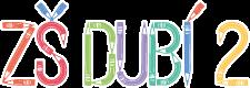 Logo ZŠ Dubí 2